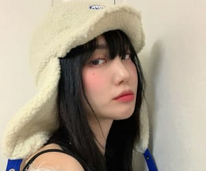 asian, bangs, and beige image