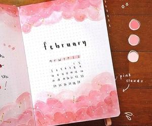 february, febrero, and bullet journal image
