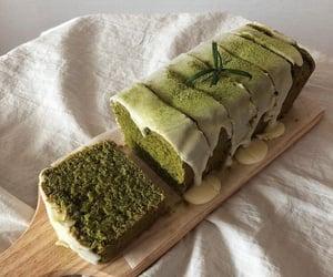cake, food, and matcha image