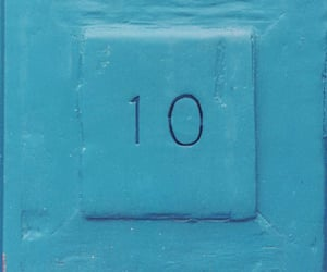 blue, ten, and number 10 image