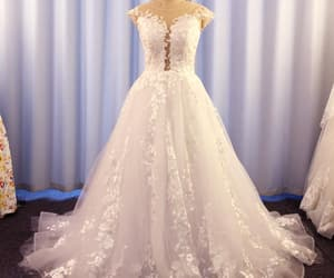 wedding gown, cheap bridal dresses, and robe de mariage image