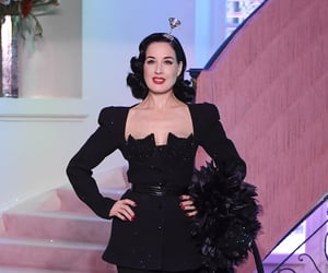 Dita von Teese, girl, and pretty image