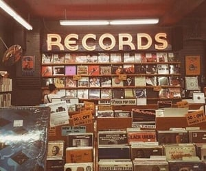 record, music, and aesthetic image