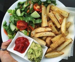 food, yummy, and vegan image