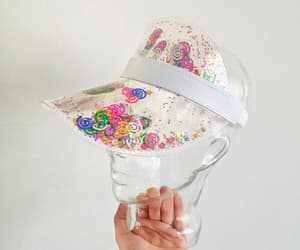 etsy, festival hat, and beach hat image