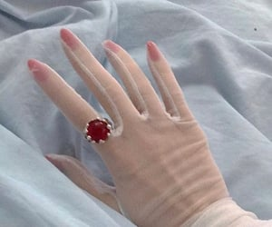 aesthetic, ring, and gloves image