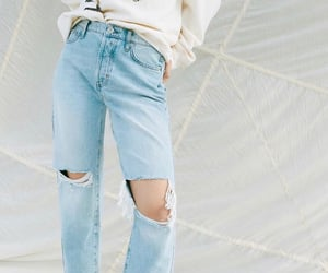 clothes, denim, and pants image