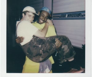 tyler the creator, mac demarco, and polaroid image