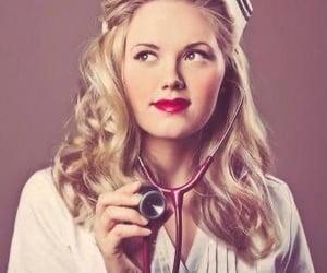 future, nurse, and pretty image