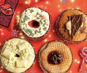 caramel, chocolate, and christmas image