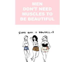 body, everyone is beautiful, and man image
