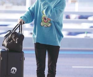 airport, blue, and casual image