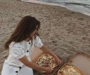 beach, beauty, and delicious image