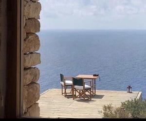 mediterranean, ocean, and summer image