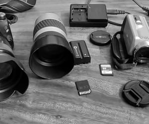 accessories, lens, and camera image