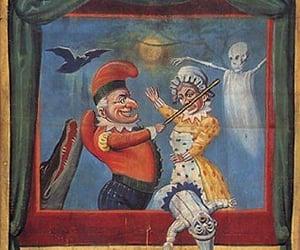 retro and circus carnival image