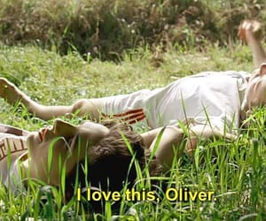 call me by your name, timothee chalamet, and oliver image