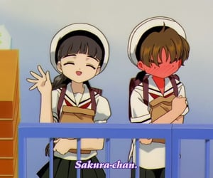 anime, sakura card captors, and li shaoran image