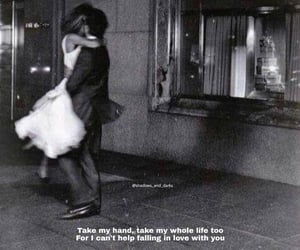 aesthetic, b&w, and couple image