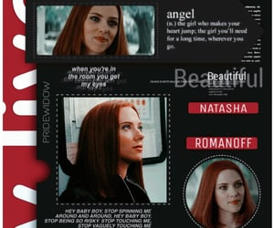 Marvel, Scarlett Johansson, and pelirroja image