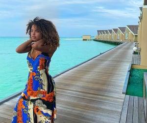 beauty, gurl, and Maldives image
