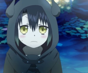 anime, anime girl, and forest spirit image