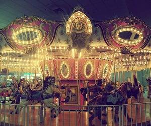 light, fun, and carousel image
