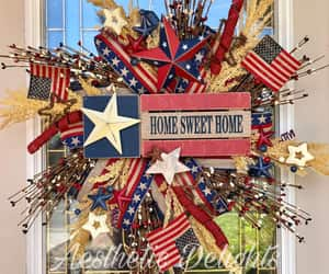 america, independence day, and homesweethome image