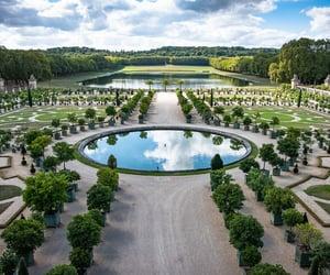 chateau de versailles, gardens, and palace image