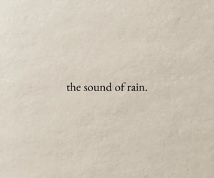 rain, quotes, and sound image