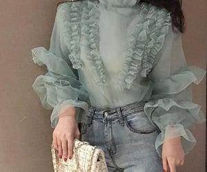 fashion, jeans, and élégant image