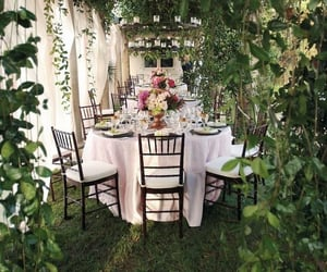 celebrate, garden party, and friends image