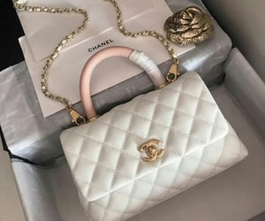 bag, chanel, and white image