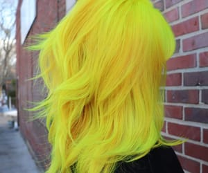 yellow hair color image