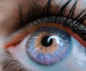 blue, eyes, and universe image