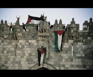 arabic, arabs, and Jerusalem image