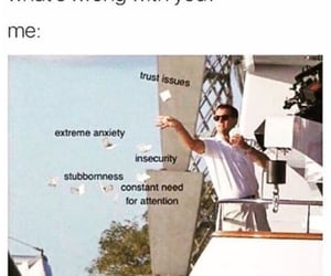funny, meme, and anxiety image