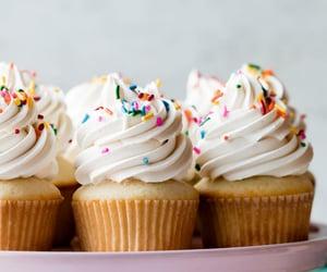 cupcake, baking, and cake image