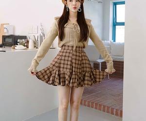 asian fashion, frill, and kfashion image
