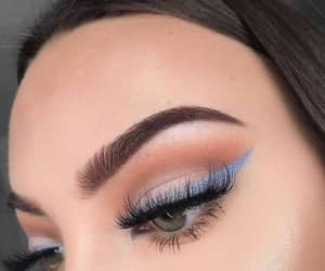 eyelashes, lashes, and make up image