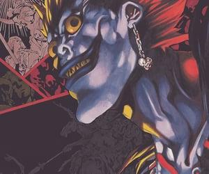 death note, shinigami, and manga image