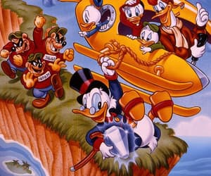 animation, ducktales, and 90s image