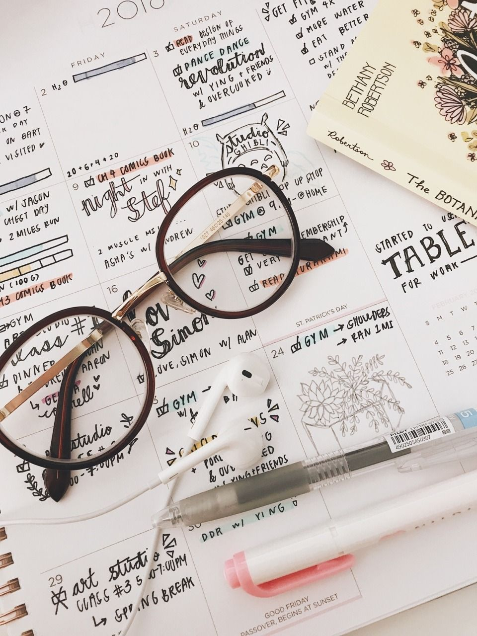 article, changes, and bulletjournal image