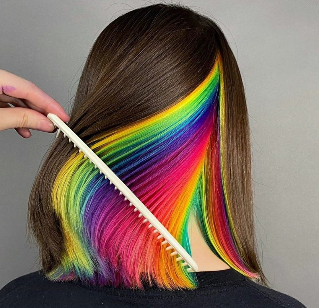 color hair and hair dye image