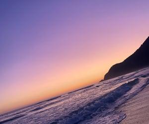 beach, colors, and landscape image