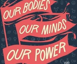 power, feminist, and feminism image