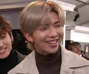 grey hair, smile, and bts image