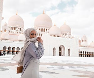 abu dhabi, arabic, and beauty image
