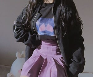 kfashion, korean, and outfit image