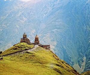 Georgia, mountains, and yazbegi image